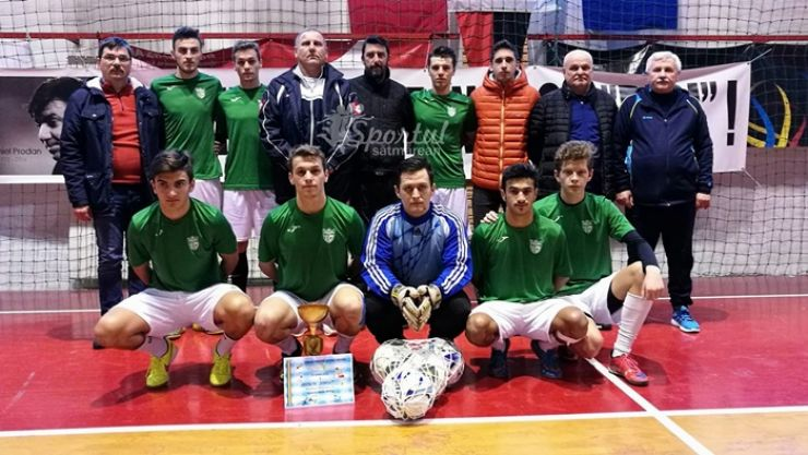 "Minifotbal   Recolta Dorolț a câștigat ""Cupa AJF Satu Mare - In memoriam Daniel Prodan"""
