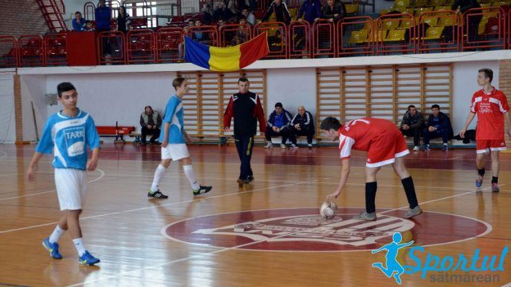 Minifotbal. Cupa AJF Satu Mare la fotbal în sală, ediția 2017, în memoria lui Daniel Prodan