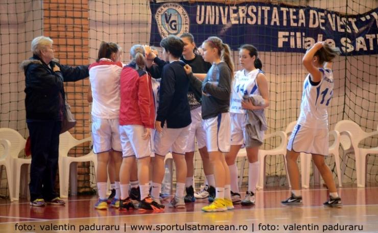 Baschet. Vineri, CSM Satu Mare joacă meciul restant cu Olimpia CSU Braşov