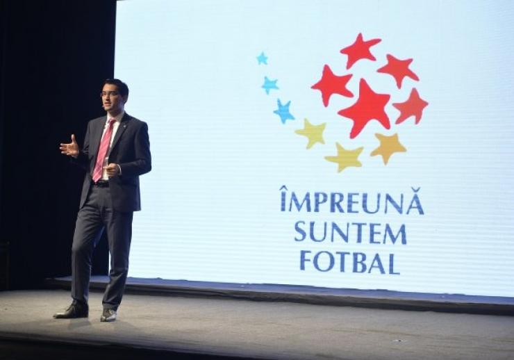"""Fotbal. FRF a lansat programul """"Împreună suntem fotbal"""""""