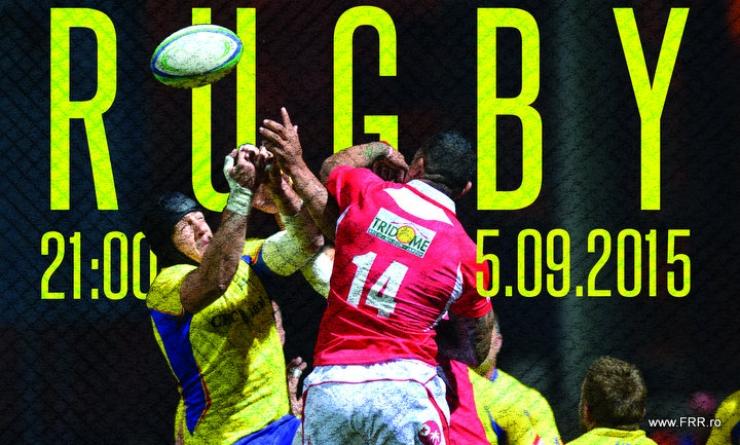 Rugby. România va întâlni Tonga într-un meci cu scop caritabil