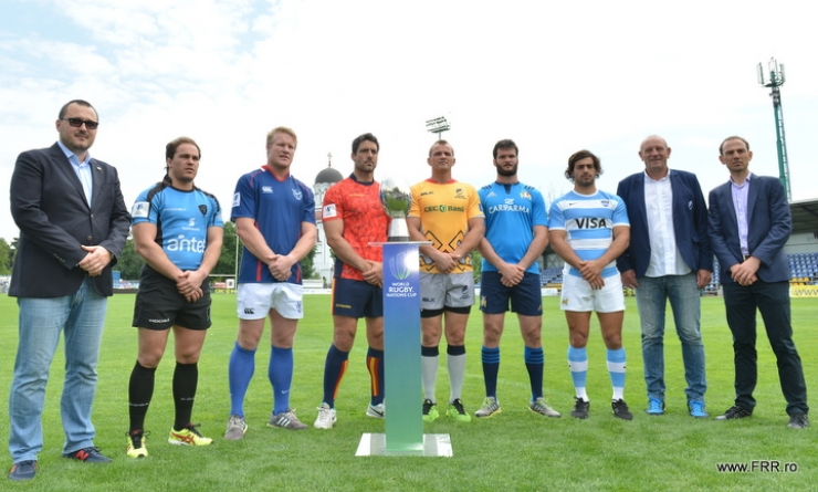 Rugby. Astăzi începe WORLD RUGBY NATIONS CUP, ediția 2016