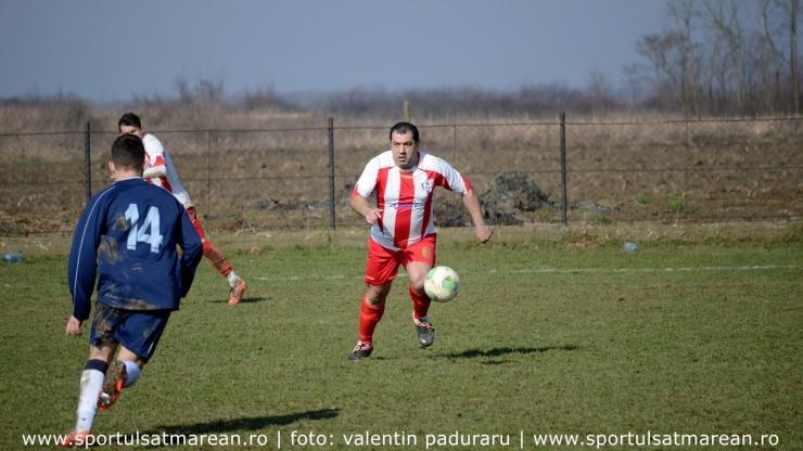 Romică Buia a făcut spectacol în amicalul dintre Recolta Dorolț și FC Recea