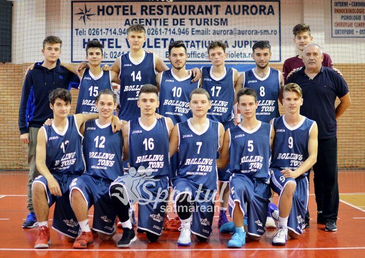 Baschet U18 | LPS CSS Satu Mare s-a calificat în faza următoare a Campionatului Național de baschet masculin