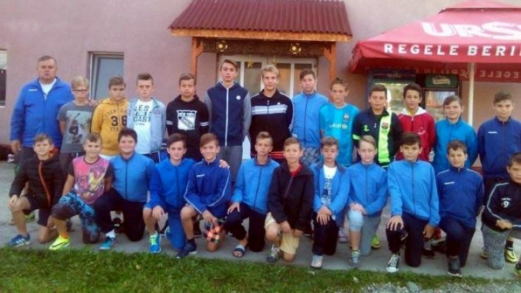 Puștii de la CS Juniorul au fost în cantonament la Ocna Şugatag