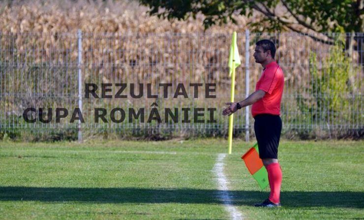 Rezultatele înregistrate în șaisprezecimile Cupei României - faza județeană