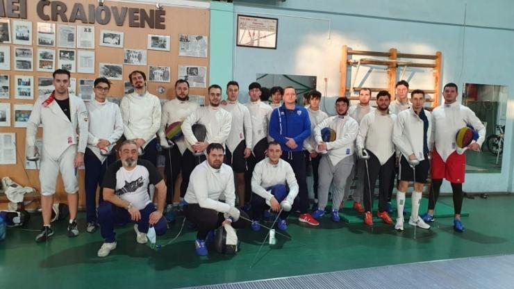 Scrimă | Szilagyi Adrian și Mezinger Marton, în cantonament cu lotul olimpic de spadă