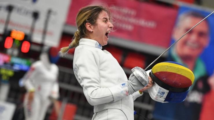 Spadă | Sătmăreanca Greta Vereș a obținut cea mai bună clasare la Grand Prix Budapesta