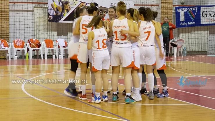 Baschet | CSM Satu Mare a început anul cu o victorie, la Cluj