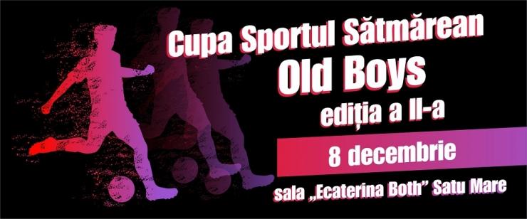 Fotbal | Cupa Sportul Sătmărean - Old Boys, ediția a II-a, duminică, în Sala LPS Ecaterina Both