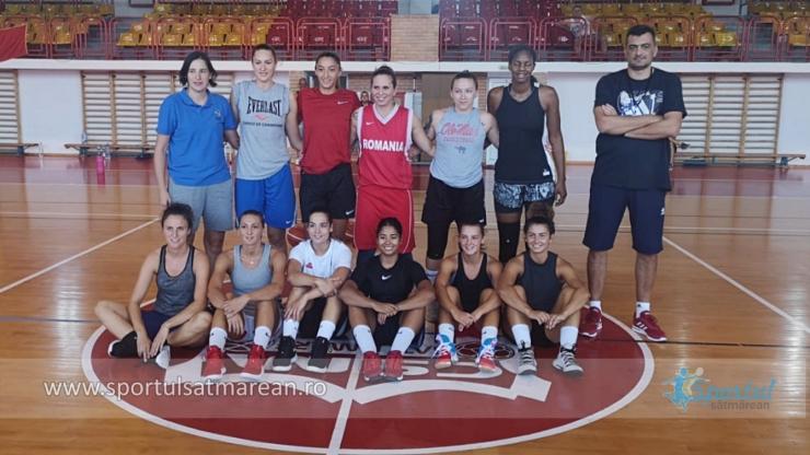 Baschet | CSM Satu Mare a început pregătirile pentru noul sezon din baschetul feminin românesc
