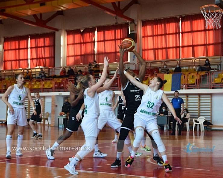Baschet | Universitatea Cluj, prima echipă calificată în finala Cupei României