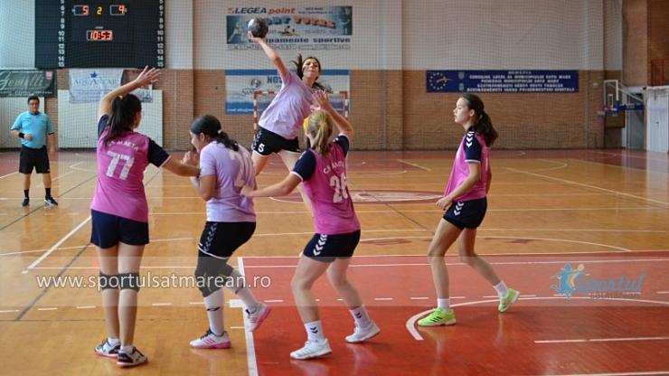 Cupa Merasport la handbal feminin, sâmbătă, la Căpleni
