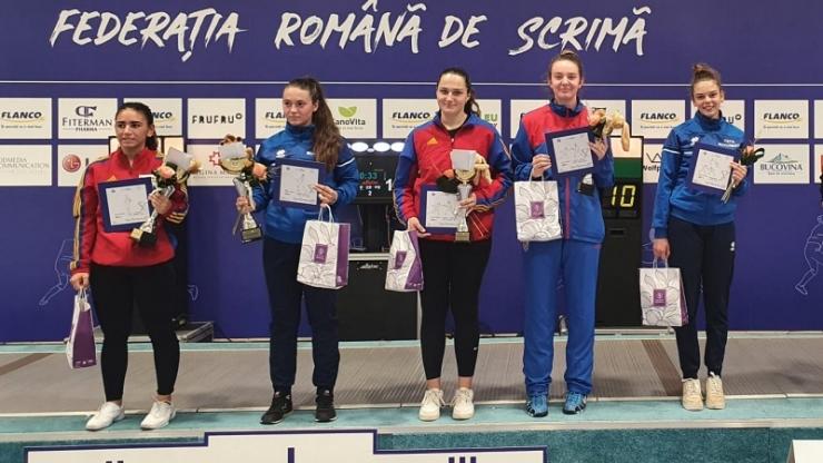 Scrimă | Sătmăreanca Teodora Șofran, bronz la Cupa României - floretă