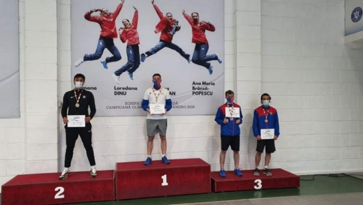 Floretă | Sătmăreanul Benjamin Bodo a obținut medalia de argint la Campionatul Național de tineret