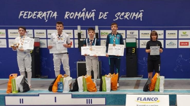 Floretă | Iosif Paul, bronz la Campionatul Național - categoria 12-13 ani
