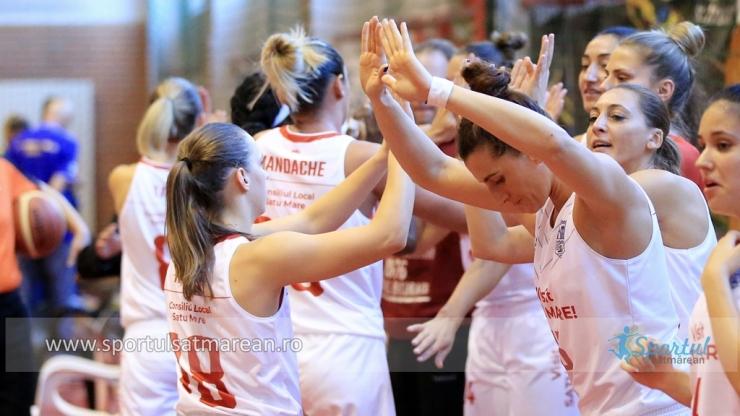 Baschet | CSM Satu Mare a obținut o victorie chinuită pe terenul ultimei clasate