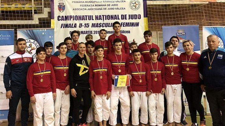 Judoka de la CSM Satu Mare - CS Fușle Security, locul 1 la Campionatul Național U-15