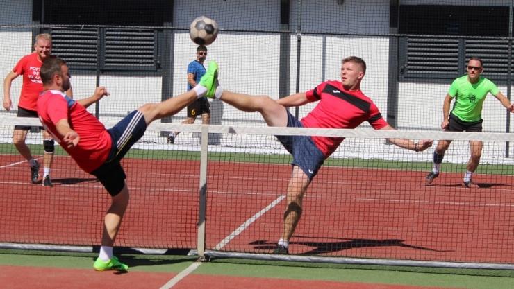 Tenis cu Piciorul | Satu Mare găzduiește etapa a V-a a Campionatului României
