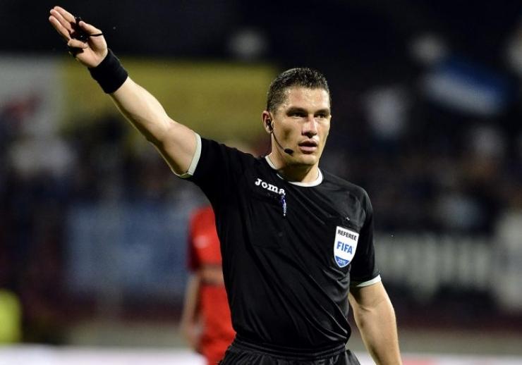 Istvan Kovacs va arbitra finala Cupei Moldovei