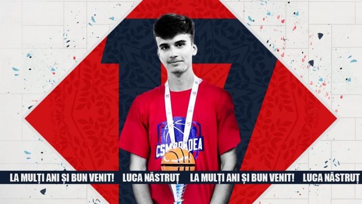 Baschet | Luca Năstruț face pasul către echipa mare a CSM Oradea