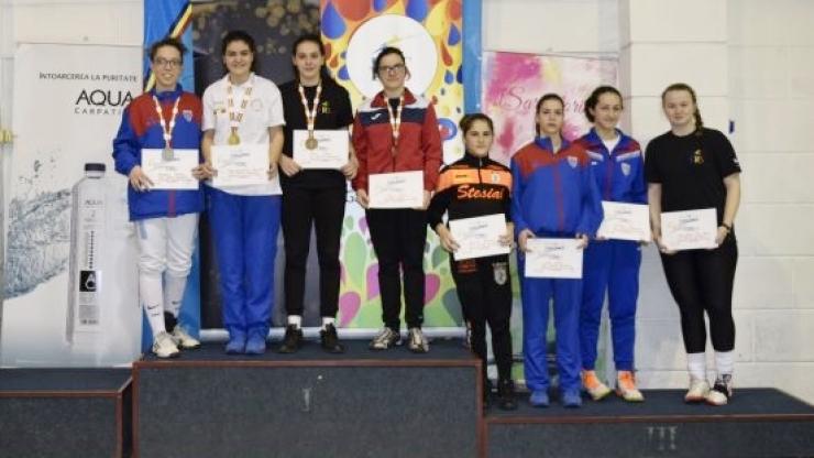 Spadă | Zsofia Kato, bronz la Campionatul Naţional - cadeţi