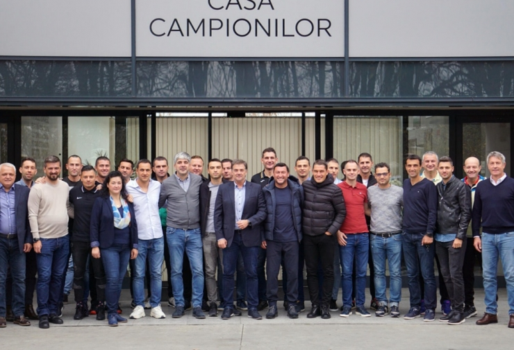 Istvan Kovacs a participat la o întâlnire de lucru cu antrenorii și arbitrii din Liga 1