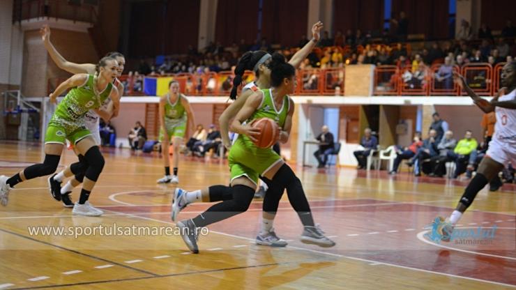 Baschet | CSM Satu Mare, înfrângere la Sf. Gheorghe, în ultimul meci al sezonului regulat