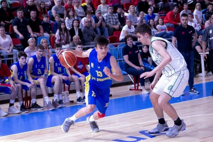 Baschet | Luca Năstruț a jucat în victoria României contra Austriei de la Campionatul European U16