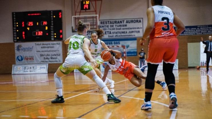 Baschet | CSM Satu Mare a pierdut semifinala cu Sepsi SIC Sfântu Gheorghe