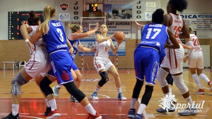 Baschet feminin | CSM Satu Mare - BC Pharmaserv Marburg, finala Ligii Europei Centrale (CEWL)