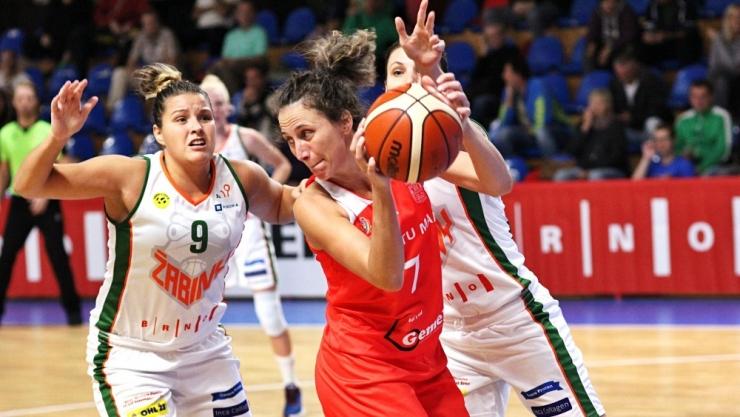 Baschet | CSM Satu Mare a încasat peste 100 puncte de la Žabiny Brno, în primul meci din CEWL