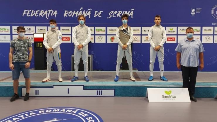 Scrimă | Răzvan Nojea a câștigat medalia de bronz la Cupa României - floretă juniori