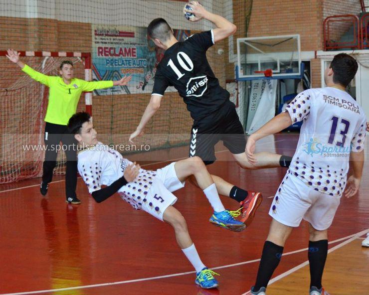 Handbal masculin | Rezultatele înregistrate în a doua zi a Turneului final de juniori III de la Satu Mare