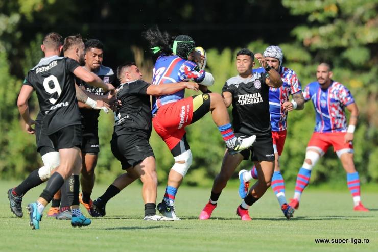 Rugby | SCM Timişoara a învins Steaua și s-a calificat în finala SuperLigii CEC Bank