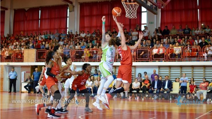 Baschet | CSM Satu Mare a învins din nou Sepsi și a dus finala LNBF în joc decisiv