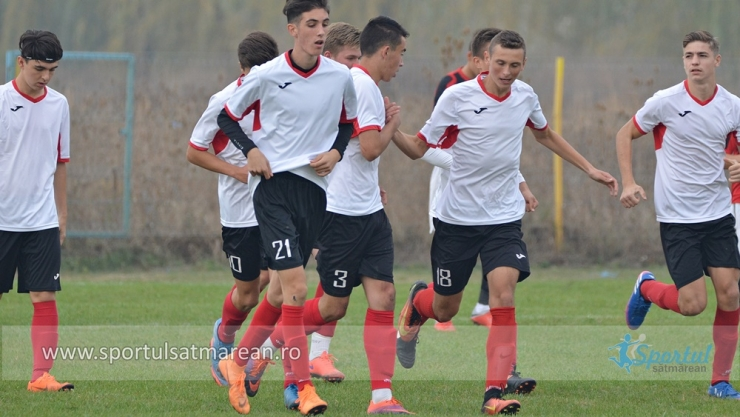 Juniori U17/U19 | Victorii categorice obținute de LPS Satu Mare cu Electrica Baia Mare