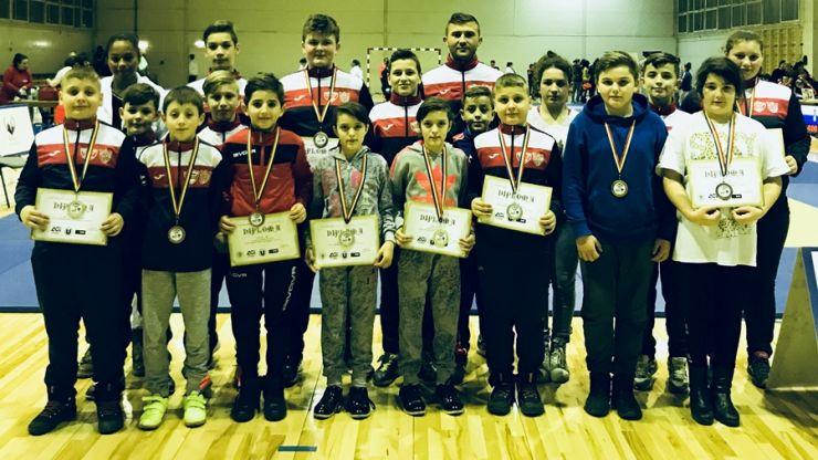 Judoka sătmăreni au câștigat zece medalii la Cupa Transilvaniei