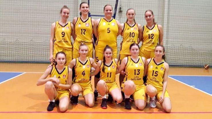 Baschet U18 | Fetele de la LPS Satu Mare au câștigat ambele jocuri ale turneului din Brașov