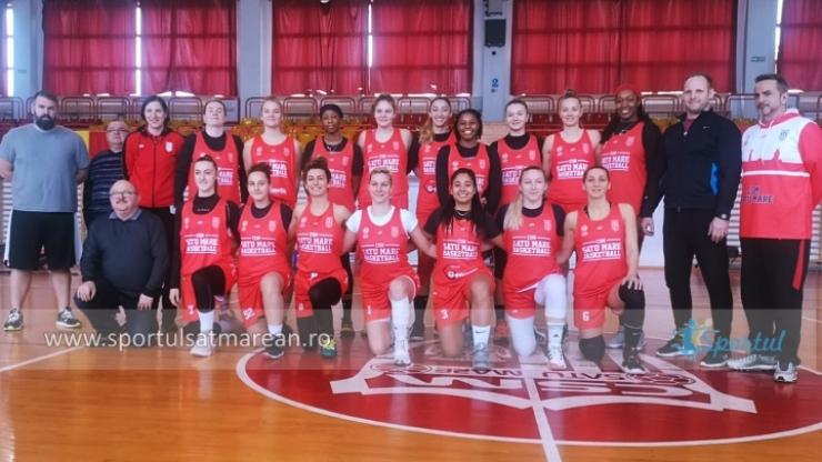 Baschet | Fetele de la CSM Satu Mare se pregătesc pentru partea a doua a sezonului