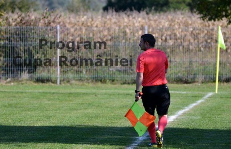S-a stabilit programul optimilor de finală din Cupa României - faza județeană