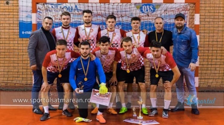 Minifotbal | Dream Team a câștigat Cupa Moș Crăciun 2019