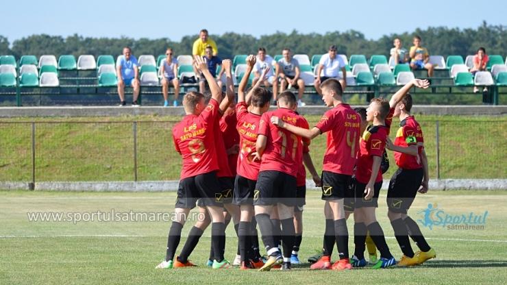 Juniori U16 | LPS Satu Mare, victorie la scor cu AFC Hermannstadt
