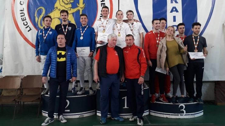 Spadasinii de la CSM Satu Mare au câștigat titlul național la Campionatul Național Tineret