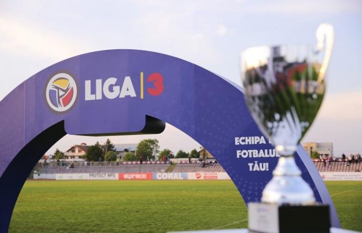 FRF a validat echipele promovate în Liga 3