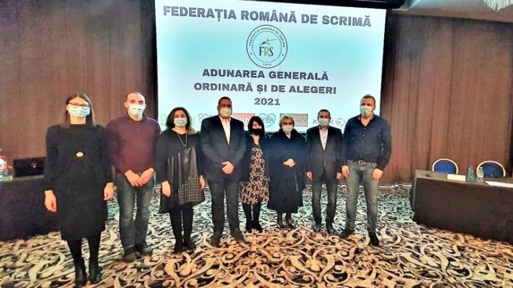 Marius Florea a fost reales președinte al FR Scrimă
