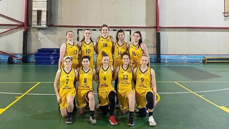 Baschet | Fetele de la LPS Satu Mare s-au calificat la Turneul Final U18