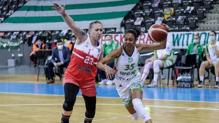Baschet | CSM Satu Mare, învinsă de Sepsi în primul joc al anului
