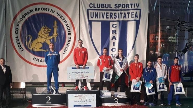 Spadă | Adrian Szilagyi, locul 3 la ediția a IX-a a Trofeului Alfredo Bachelli