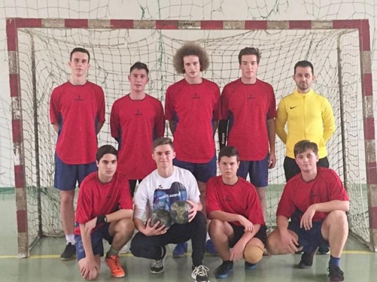 Handbal masculin | Liceul Teoretic Carei, locul II la etapa zonală a Cupei MEC